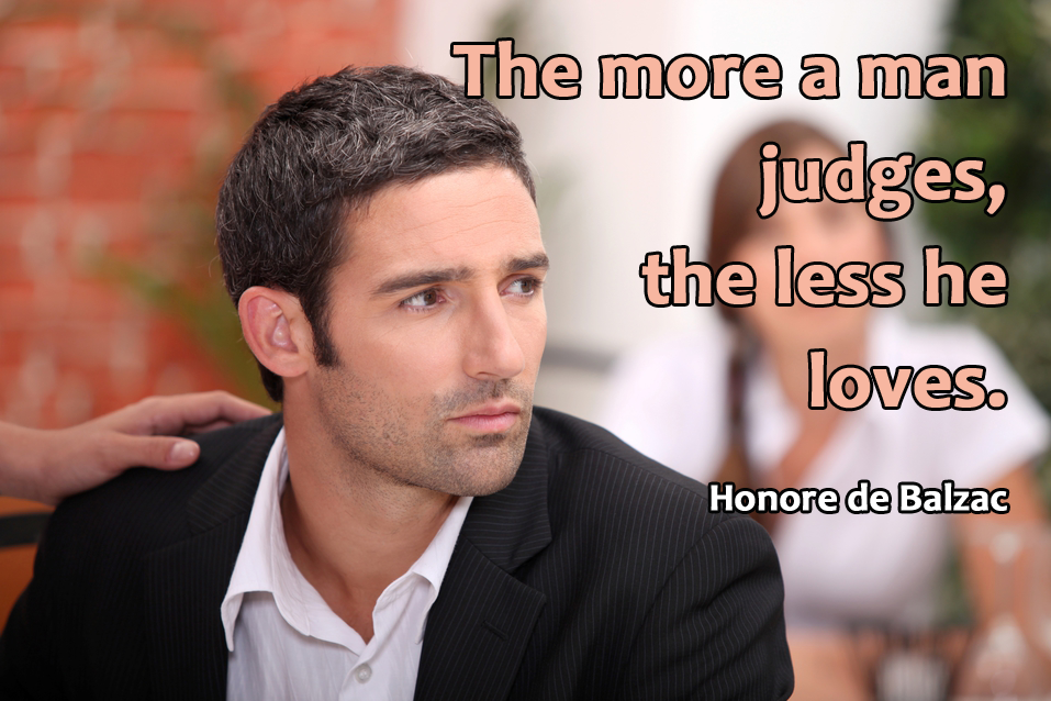 random quote on judging people