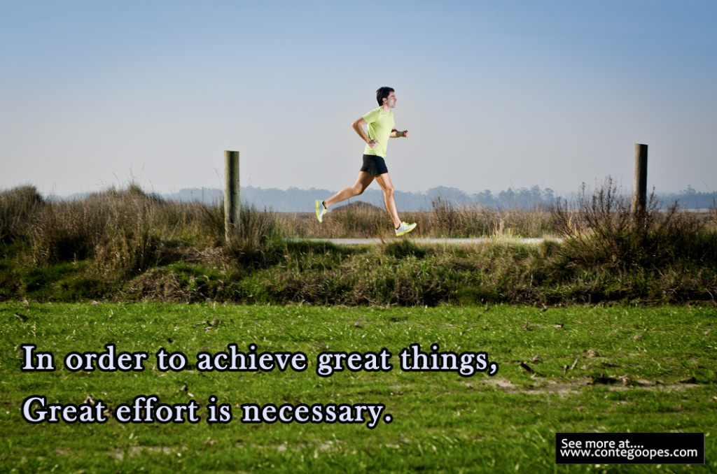 quote on achieving great things