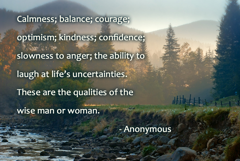 random quote on kindness and calmness