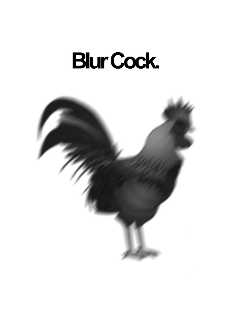 rude joke about blur cock